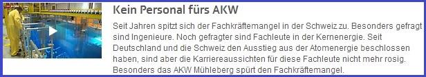 srf1 AKW Personal: Wissen und Erfahrung sinkt = AKW Risiko steigt!