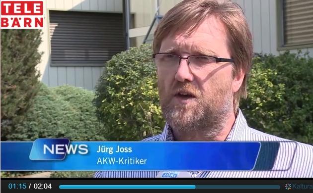 2015 09 11 Interview TeleBaern Atom Notfallübung ergibt Sinn. Aber!