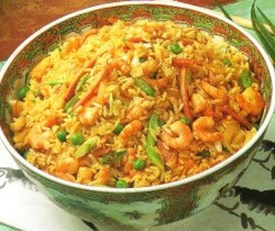 Bratreis Gebratener Reis (China)