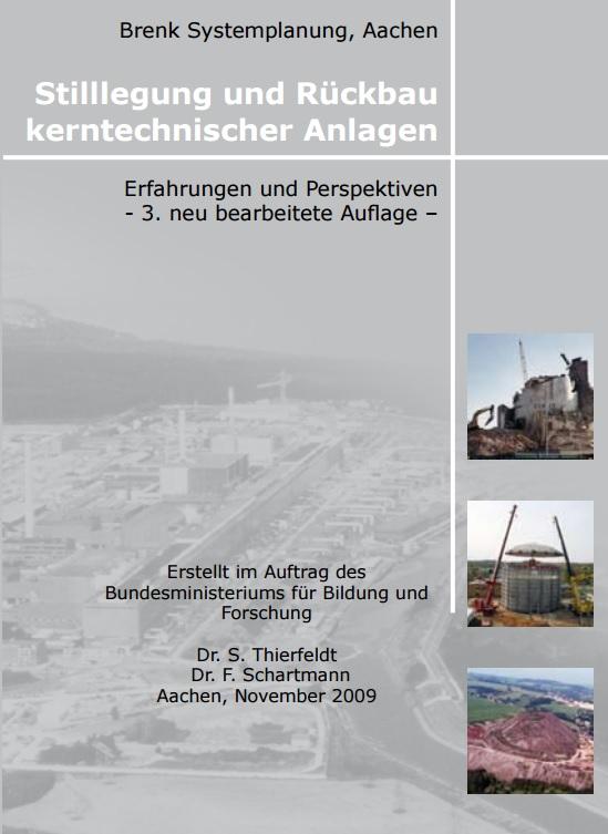 BuchStillegung Stilllegung von AKW / Decommissioning nuclear power stations