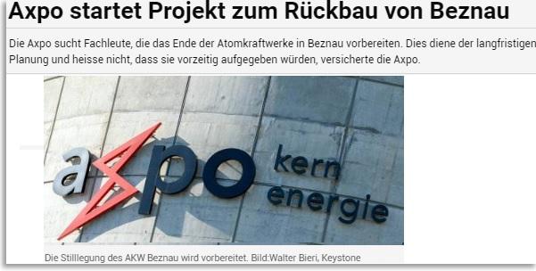 APOStillegungsplan Stilllegungsplanung für alle Schweizer AKW!